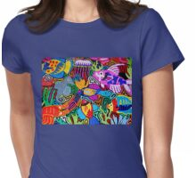 Mola de Panama Womens Fitted T-Shirt