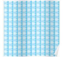 creative triangular pattern Poster