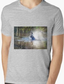 A Bit of a Splash Mens V-Neck T-Shirt