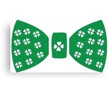 Lucky charm ribbon St.Patrick's day Canvas Print
