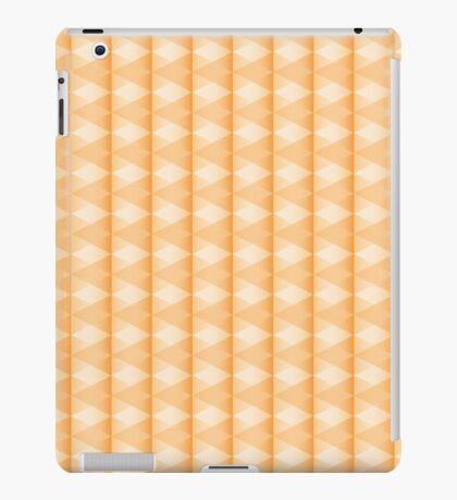 abstract triangle pattern iPad Case/Skin
