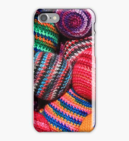 Colorful Knit Balls iPhone Case/Skin