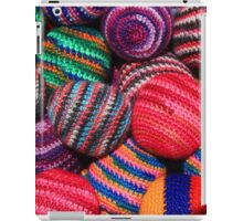 Colorful Knit Balls iPad Case/Skin