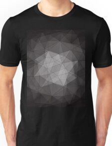 black crystal pattern Unisex T-Shirt