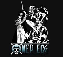 One Piece Characters - dark Unisex T-Shirt