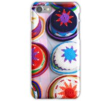 Patterned Knit Hats iPhone Case/Skin