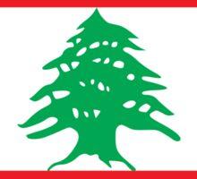 National Flag of Lebanon Sticker