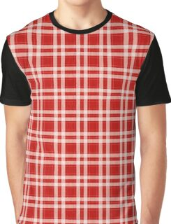 Tartan in red Graphic T-Shirt