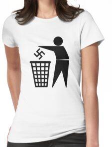 Anti Nazi Womens Fitted T-Shirt