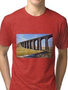 Ribblehead Viaduct Tri-blend T-Shirt
