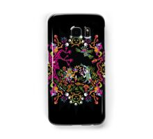 Aztec meeting psychedelic T-shirt Samsung Galaxy Case/Skin