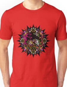 Aztec meeting psychedelic T-shirt Unisex T-Shirt
