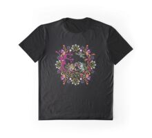 Aztec meeting psychedelic T-shirt Graphic T-Shirt