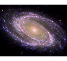 Spiral galaxy Messier 81. Photographic Print