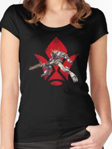 Gundam Barbatos - Iron Blooded Orphans Women's Fitted Scoop T-Shirt