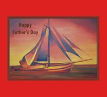 Happy Father's Day (Sienna Sails) Kids Tee