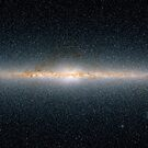 This panoramic view encompasses the entire sky as seen by Two Micron All-Sky Survey. by StocktrekImages