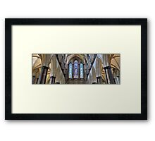 Salisbury Cathedral Detail, Somerset Framed Print