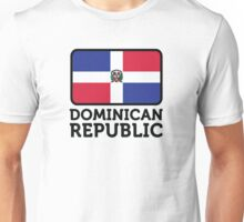 National Flag of the Dominican Republic Unisex T-Shirt