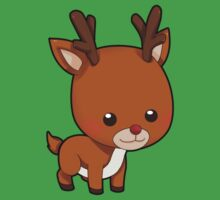 Adorably Cute Reindeer Baby Tee