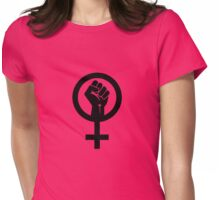 Feminism Symbol Womens Fitted T-Shirt
