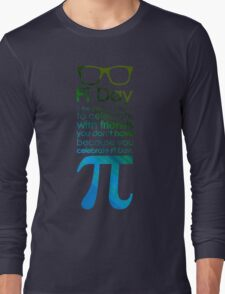 pi day 3 Long Sleeve T-Shirt
