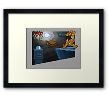 Metroid Remastered  Framed Print