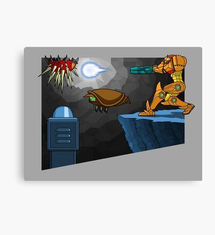 Metroid Remastered  Canvas Print