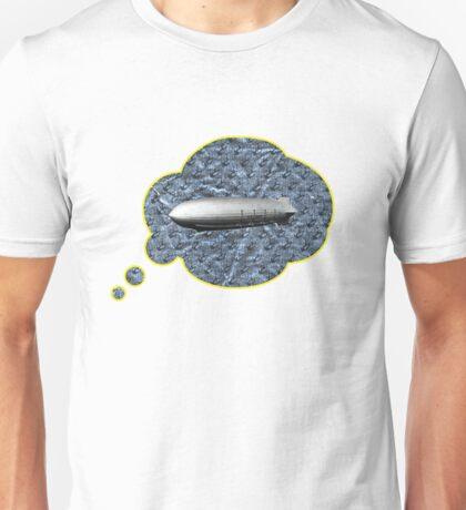 zeppeliner on sheet of chocolate paper Unisex T-Shirt