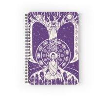 Buddha in meditation Spiral Notebook