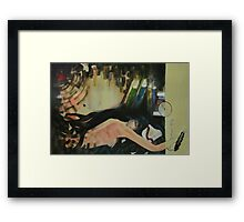 Trade in time .. Framed Print