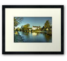 Winter at Rock Cottage  Framed Print
