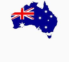 Australia Flag Map Unisex T-Shirt