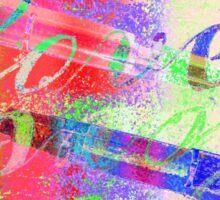 LOVE - LIEBE - part I - Brief schreiben - write a letter Sticker