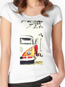 Spring Dubbing Women's Fitted Scoop T-Shirt