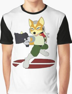 Fox - Super Smash Bros Melee Graphic T-Shirt