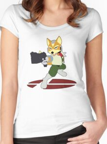 Fox - Super Smash Bros Melee Women's Fitted Scoop T-Shirt