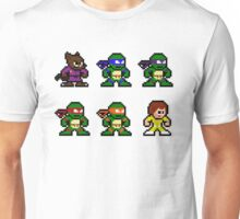 8Bit Ninja Turtles Unisex T-Shirt