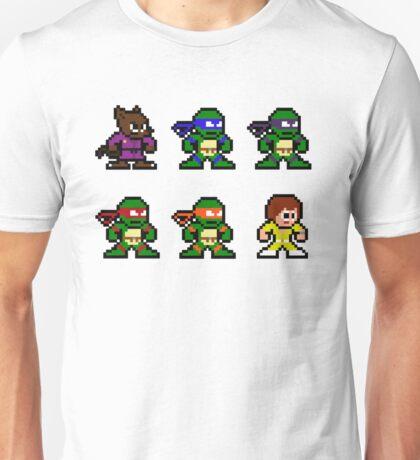 8Bit Ninja Turtles Unisex T-Shirt
