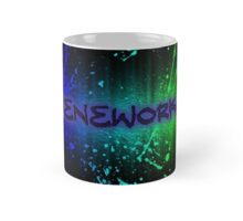 ReneWorks Abstract Oil Paint Mug