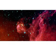 Young stars emerge from Orion's head. Photographic Print