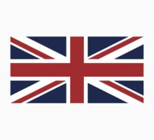 Union Jack, British Flag, UK, United Kingdom, Pure & simple 1:2 by TOM HILL - Designer