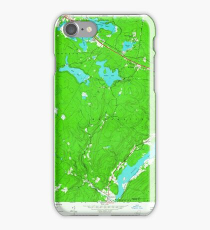 New York NY Yankee Lake 140391 1966 24000 iPhone Case/Skin