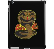 Cobra kai - Variant 4 Plain Logo distressed iPad Case/Skin