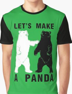 Let's Make A Panda Graphic T-Shirt