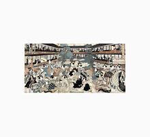 Eizan Kikukawa - Room In The Ogi House of New Yoshiwara - Circa 1810 - Woodcut Unisex T-Shirt