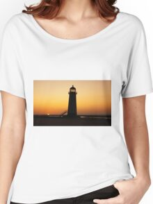 Talacre Lighthouse - Flintshire - Wales Women's Relaxed Fit T-Shirt