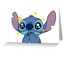 CUTE STITCH SPARKLE Greeting Card