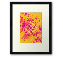 Geometry and Colors XXVII Framed Print