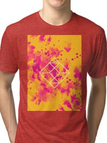 Geometry and Colors XXVII Tri-blend T-Shirt